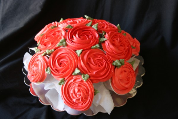 Ravishing Rose Cupcake Bouquet Free Guide And Tutorial
