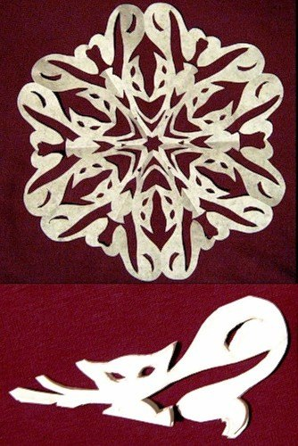 VIEW IN GALLERY snowflake-25 & Wonderful DIY Paper Snowflakes With Pattern