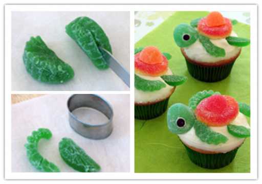 Wonderful DIY Sweet Turtle Cupcakes
