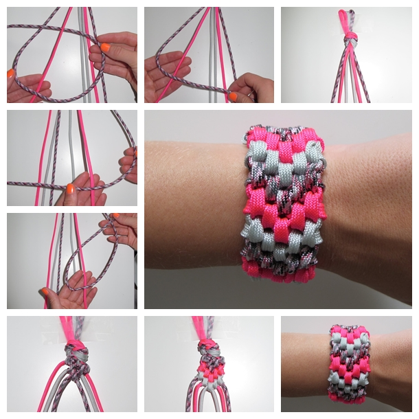 6-Strand-Braided-Friendship-Bracelet F