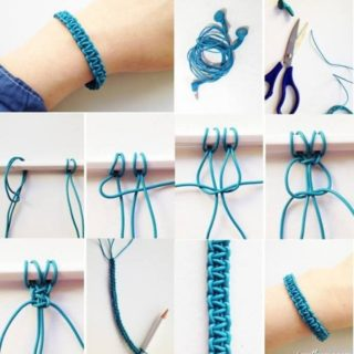 Amazing DIY Recycled Headphones Bracelets