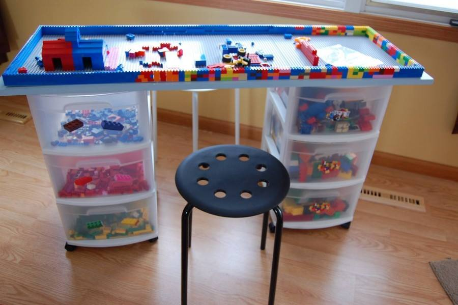 Lego Bedroom Bin