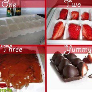 Wonderful DIY Yummy Strawberry Chocolate Bar