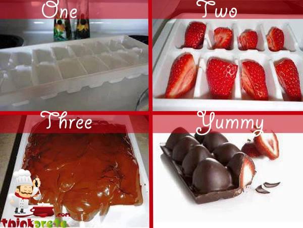 Chocolate Strawberry Bar Wonderful DIY Yummy Strawberry Chocolate Bar