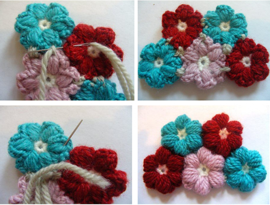 Crochet Flower Baby Blanket2 Super Soft 6 Petal Flower Baby Blanket With Free Pattern