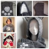 Wonderful DIY Cute  Crochet Cat Scoodie with Pockets