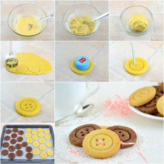 Wonderful DIY Super Cute Button Cookies