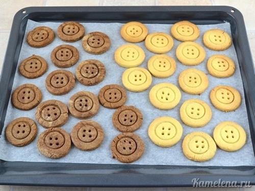 Cute Button cookie1 Wonderful DIY Super Cute Button Cookies