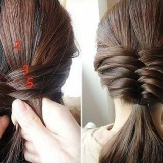 Wonderful DIY French Fishtail Braided Hairstyle