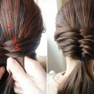 Wonderful DIY French Fishtail Braided Hairstyle