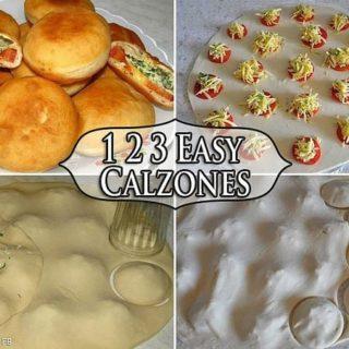 Wonderful DIY Easy Homemade Calzone