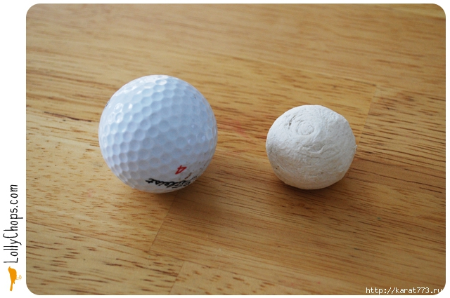 Golf Ball Paper Flower 1 Wonderful DIY Gorgeous Paper Flower Using Golf Ball