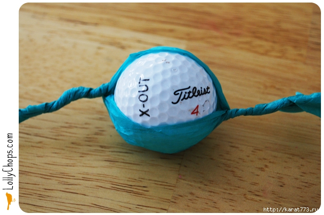 Golf Ball Paper Flower 2 Wonderful DIY Gorgeous Paper Flower Using Golf Ball
