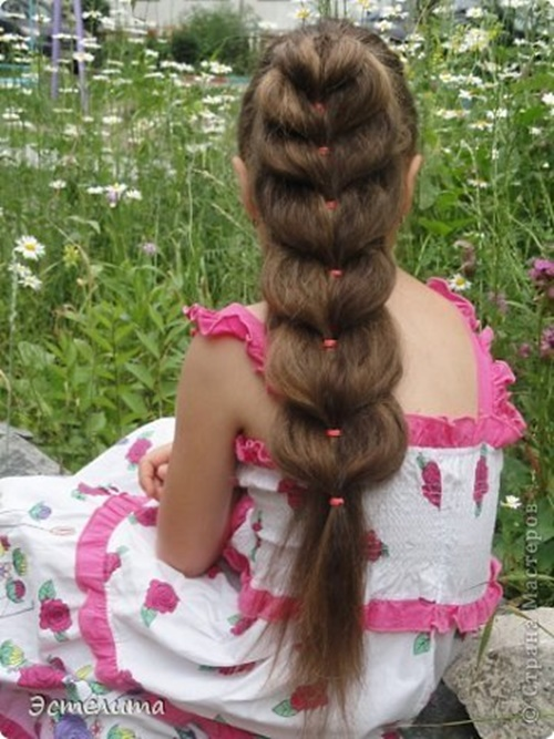Heart Ponytail Hairstyle1 Wonderful DIY Pretty Heart Ponytail Hairstyle