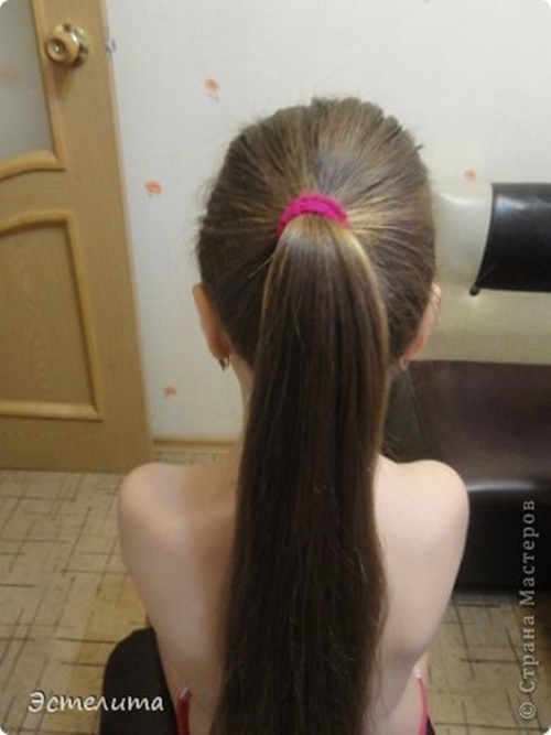 Heart Ponytail Hairstyle2