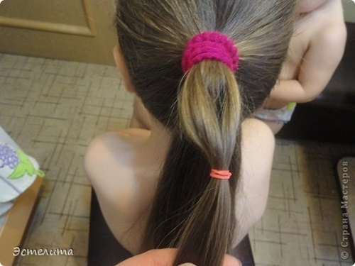 Heart Ponytail Hairstyle4