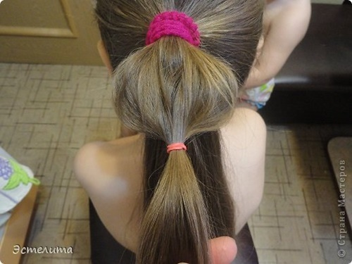 Heart Ponytail Hairstyle5