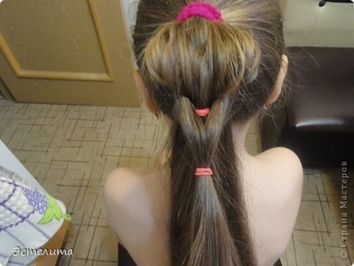 Heart Ponytail Hairstyle7