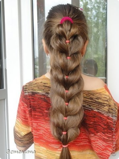 Heart Ponytail Hairstyle9