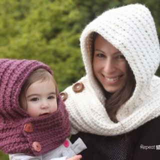 Wonderful DIY Crochet Hooded  Cowl with Free Pattern