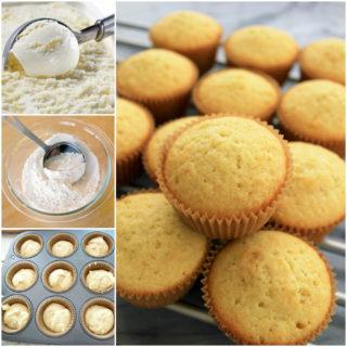 Wondderful DIY Super Easy Ice Cream Muffins