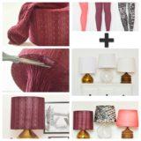 Wonderful DIY Fantastic Leggings  Lampshade