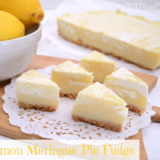 Wonderful DIY Lemon Meringue Pie Fudge