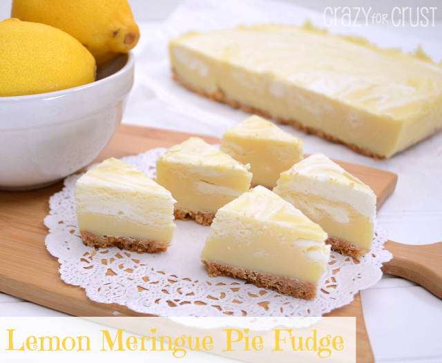 Lemon Pie Fudge F Wonderful DIY Lemon Meringue Pie Fudge
