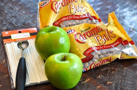 Mini Caramel Apple Lollipop1 Wonderful DIY Mini Caramel Apple