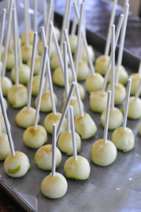 Mini Caramel Apple Lollipop4