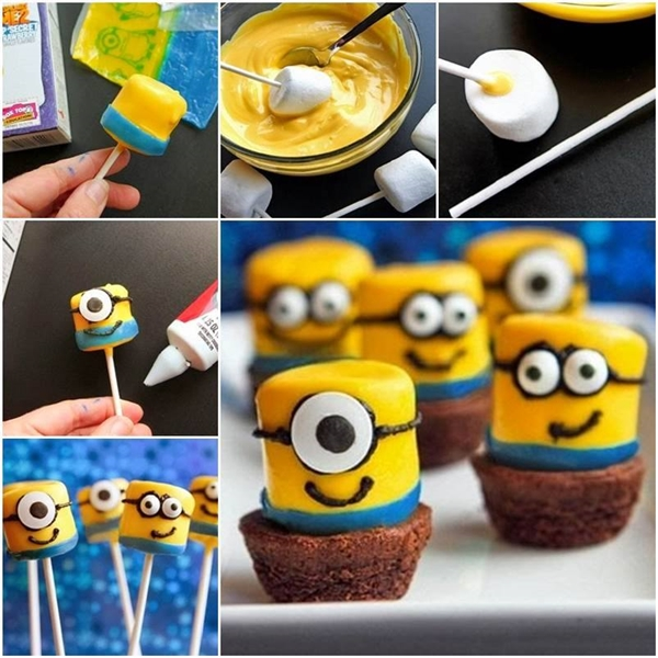 Minions Marshmallows F