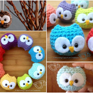 Crochet Baby Owls That Look Adorable as Ornaments