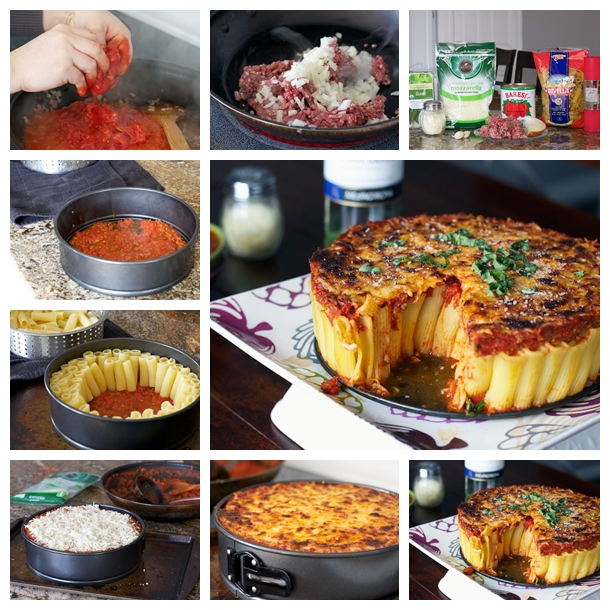 Rigatoni Pasta Pie F  Wonderful DIY Great Rigatoni Pasta Pie