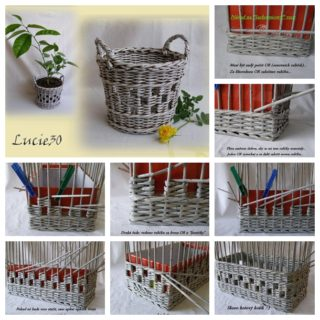Wonderful DIY Unique Storage Basket From Old Newspaper