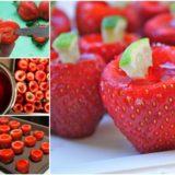 Wonderful DIY Strawberry Margarita Jell-o Shots
