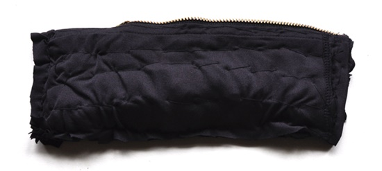 Stylish Pouch from old leggings11