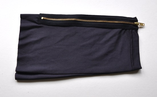 Stylish Pouch from old leggings2