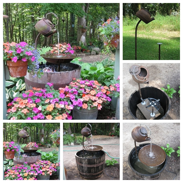 Teapot Fountain F Wonderful DIY  Amazing Teapot Fountain