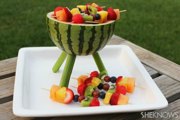 Watermelon Grill Centerpiece7