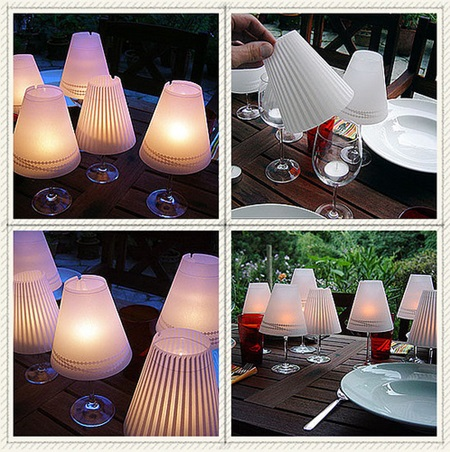 Wine Glass Candle Lamp10