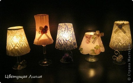 Wine Glass Candle Lamp9