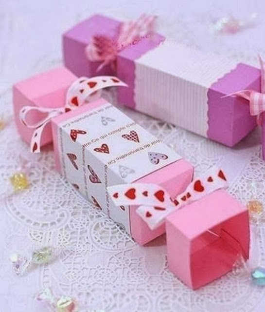 candy gift box 01 Wonderful DIY Lovely Candy Shaped Gift Box