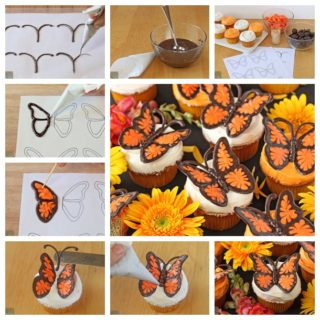 Wonderful DIY Cute Chocolate Butterfly Decorations