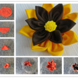 Wonderful DIY Colorful Fabric Flower