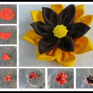 Wonderful DIY Colorful Fabric Flower