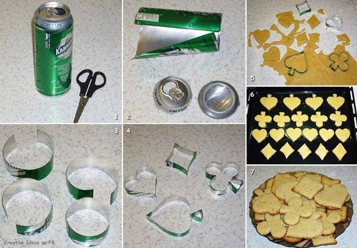 cookie cutter 0 Wonderful DIY Your Own Cookie Cutters from Soda Can