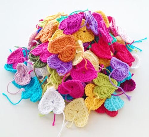 crochet heart 3
