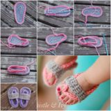 Adorable Crochet Baby Sandals to DIY for Your Little One