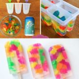 Wonderful DIY Easy Gummy Bear Popsicles