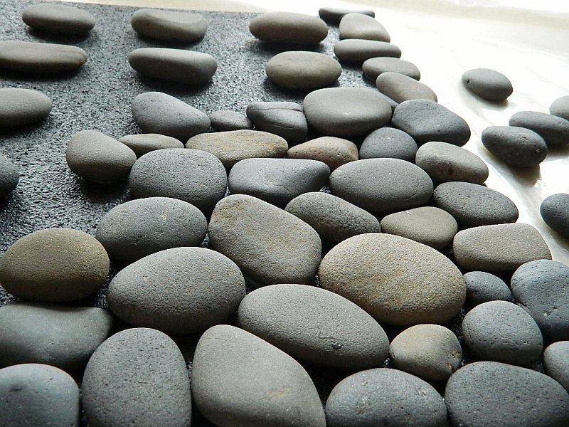 diy stone mat tutorial